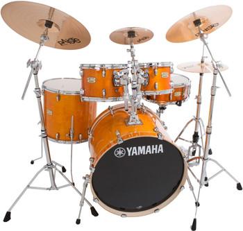 Yamaha Stage Custom Birch Euro Plus Pack Honey Amber