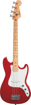 Squier Affinity Bronco Bass Short Scale MN Torino Red