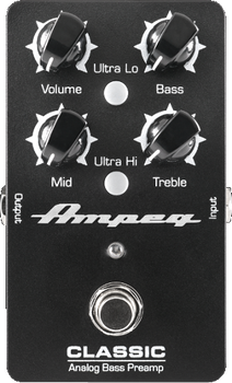 Ampeg Classic Analog Bass Preamp Pedal
