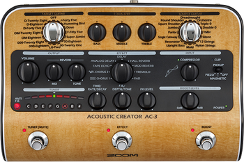 Zoom AC-3 Acoustic Creator Enhanced DI Box