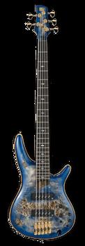 Ibanez SR2605 CBB Premium 5-String Bass Cerulean Blue Burst