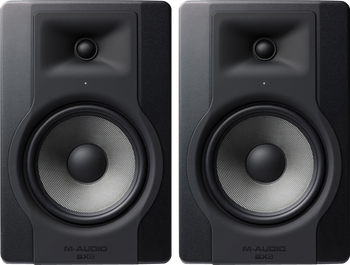 "M-Audio BX8 D3 8"" Powered Studio Reference Monitor (Pair)"