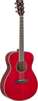 Yamaha FS-TA-RR TransAcoustic Concert Ruby Red