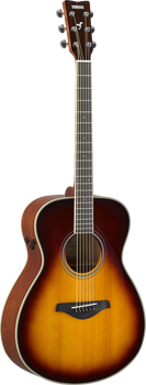 Yamaha FS-TA-BS TransAcoustic Concert Brown Sunburst