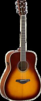 Yamaha FG-TA-BS TransAcoustic Traditional Western Brown Sunburst