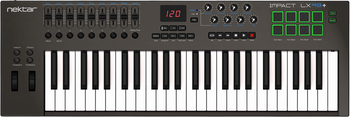 Nektar Impact LX49+ 49-Note USB MIDI Keyboard Controller
