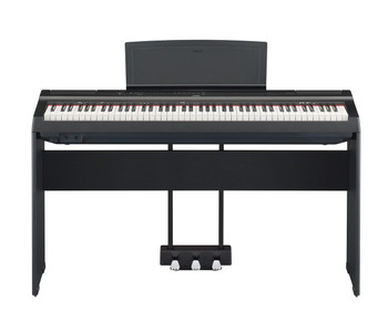 Yamaha P125 w/optional L-125 stand and LP-1 pedal unit.