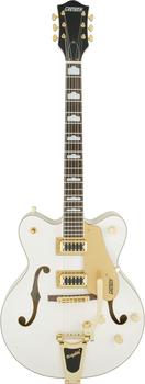 Gretsch G5422TG Electromatic Hollow Body Double-Cut with Bigsby Snowcrest White