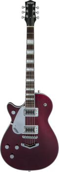 Gretsch G5220LH Electromatic Jet BT Single-Cut with V-Stoptail Left-Handed Dark Cherry Metallic