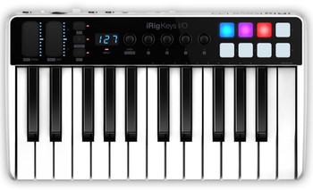 IK Multimedia iRig Keys I/O 25 Keyboard Controller with Audio Interface