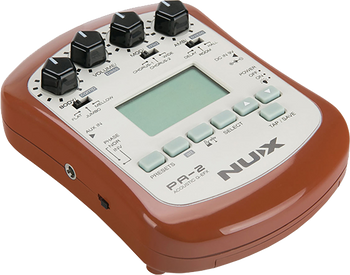Nux PA-2 Portable Acoustic Guitar Mutli-Effects
