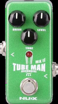 Nux NOD-2 Tube Man MKII Overdrive Mini Pedal