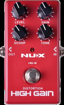 Nux HG-6 Modern High Gain Distortion Pedal
