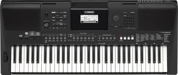 Yamaha PSR-E463 61-Key Touch Response Portable Keyboard
