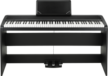 Korg B1SP Digital Piano Black with Stand and Pedals