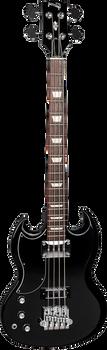 Gibson SG Bass 4-String 2018 Ebony Left Handed