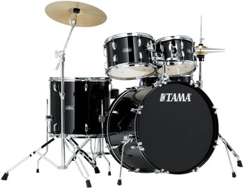 Tama Stagestar SG52KH5C BK 5-Piece Drum Kit Black with Cymbal Set