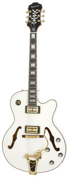 Epiphone Emperor Swingster Royale Pearl White