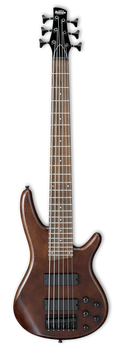 Ibanez Gio GSR256B 6-String Bass Walnut Flat