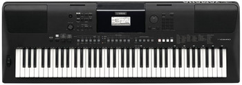 Yamaha PSR-EW410 76-Key Touch Response Portable Keyboard