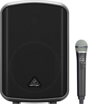 Behringer MPA200BT All-in-One Portable 200-Watt Speaker with Wireless Microphone
