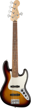 Fender Player Jazz Bass V PF 3-Colour Sunburst 5-String Bass