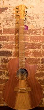 Cole Clark Angel 2 CCAN2EC-RDEM Redwood European Maple