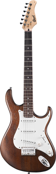 Cort G100 OPW Electric Guitar Open Pore Walnut