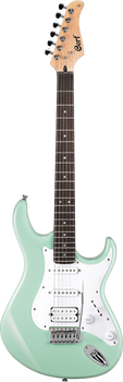 Cort G110 CGN Electric Guitar Caribbean Green