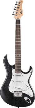 Cort G100 OPB Electric Guitar Open Pore Black
