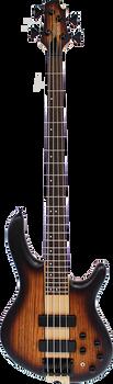 Cort Artisan C4 Plus ZBMH OTAB Bass Open Pore Tobacco Burst