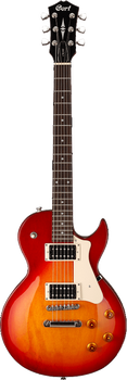 Cort CR100 CRS Electric Guitar Cherry Red Sunburst
