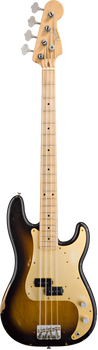 Fender Road Worn 50s Precision Bass MN 2-Colour Sunburst