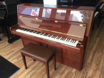 Yamaha P2 Mahogany Secondhand Upright Piano