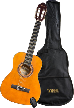 Valencia VC104K Full-Size Classical Guitar Natural Finish