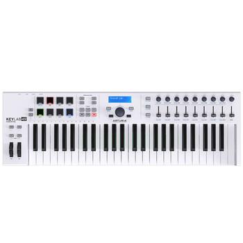 Arturia KeyLab Essential 49 Semi-Weighted USB MIDI Controller Keyboard Top