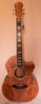 Cole Clark Angel 3 CCAN3EC-RDBL Redwood Blackwood - Front