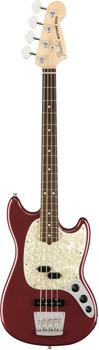 Fender American Performer Mustang Bass RW Aubergine