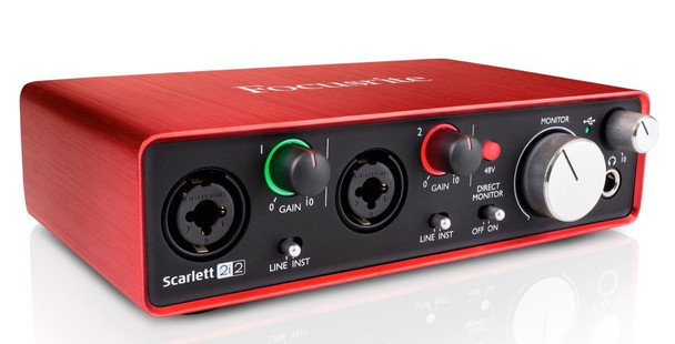 Focusrite Scarlett 2i2 2nd Gen Audio Interface