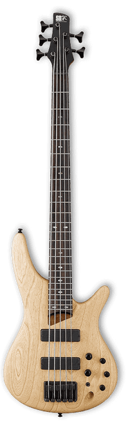 Ibanez Soundgear SR605 NTF 5-String Bass Guitar Natural Flat