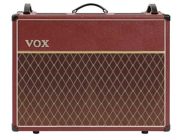 VOX AC30C2 Limited Edition Maroon Bronco