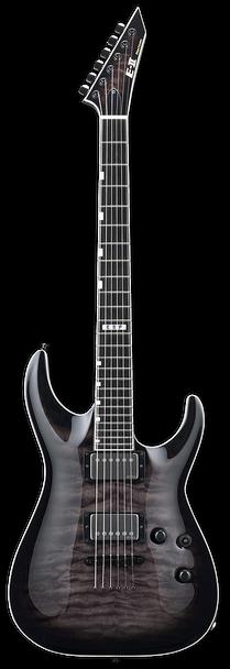 ESP E-II Horizon NT-II See Thru Black Sunburst