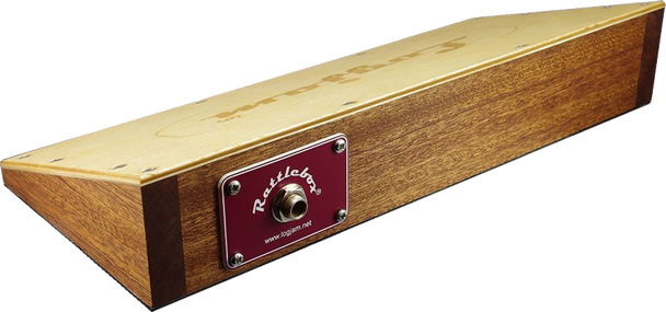 Logjam Rattlebox Stompbox with Snare Wire