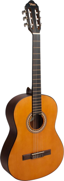 Valencia VC204L Classical Guitar Antique Natural Left-Handed