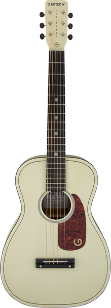 """Gretsch G9500 Limited Jimmy Dandy 24"""" Scale Flat Top Vintage White"""