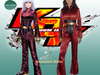 The King of Fighters Cosplay, Kula Diamond Costume Set!