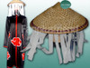 Optional Item: A Bamboo Hat with long fringes, $25.00