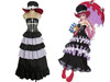 One Piece Cosplay, Perona Costume Dress