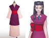 Phoenix Wright\Ace Attorney Cosplay, Iris Costume Outfit