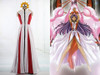 Revolutionary Girl Utena cosplay Rose Bride Anthy Himemiya Costume Dress Set